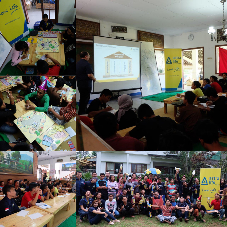 Life Lovers Beri Pelatihan Finansial di The Learning Farm